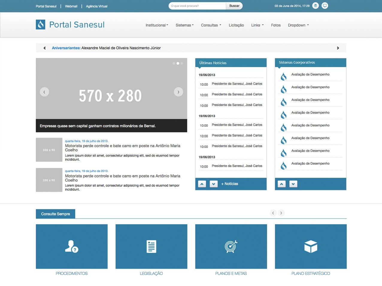 portal-sanesul-screenshot
